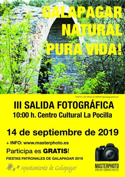 III Salida Fotográfica. Galapagar Natural Pura Vida!